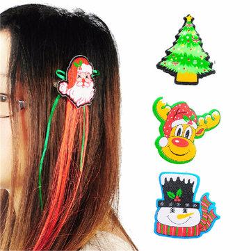 Mignon Santa Christmas Xmas Clip de Cheveux Partie Accessoires Décoration 4 Styles