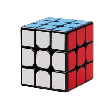 Classic Magnetic Magic Cube Toys 3x3x3 PVC Sticker Block Puzzle Speed Cube
