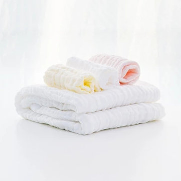 Original Xiaomi BEVA 4 in 1 Baby Infant Cotton Towel Cotton Gauze Hankercheif Square Bath Towel Set Gift Box