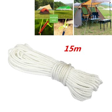 15M Nylon Multifunction Camping Hiking Awning Accessory Tent Rope