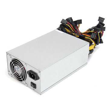 2000W Bitcoin Mining Miner Power Supply Mining Machine with 2 Fan