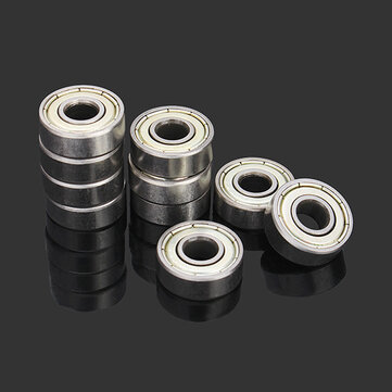 Buy Machifit 10pcs 6x17x6mm 606zz Steel Sealed Shielded Deep Groove Ball Bearing for $2.45 in Banggood store