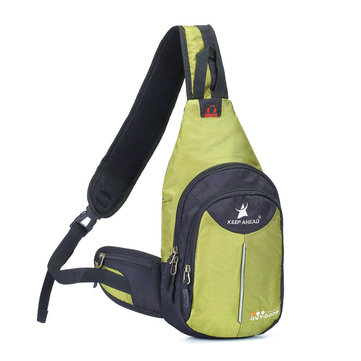 Outdoor Hiking Sling Bag Chest Pack for Men