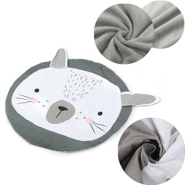 90x94cm Rabbit Carpet Newborn Baby Child Playing Game Soft Rug Mat Blanket Gift Home Decor