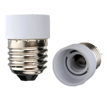 E27 to E14 Fitting Light Lamp Bulb Adapter Converter