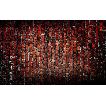 5x7FT Vinyl Brick Wall Floor Photography Backdrop Background Studio Prop