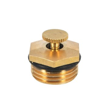 5Pcs 1/2'(DN15) Brass Watering Adjustable Sprinkler 360° Gardening Micro Drip Irrigation Sprayer