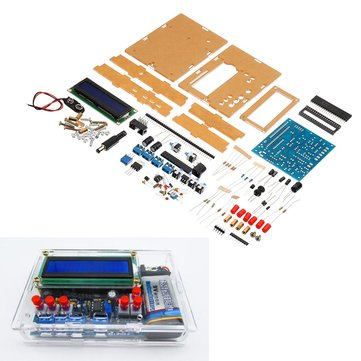 DIY Inductance Capacitance Frequency Meter Tester Kit Based On 51 Single-chip MCU With Shell