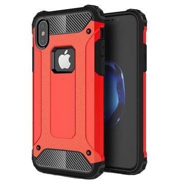 Armatura antiurto PC + TPU doppio caso di protezione di protezione per iPhone X