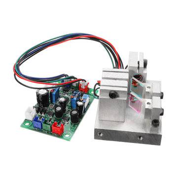 RGB 300mW White Laser Dot Module Red Green Blue 638nm 520nm 450nm TTL Driver Modulation