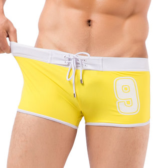 Summer Beach Shorts Casual Holiday Hotsprings Spa Quick Drying Boxers Swimming Trunks