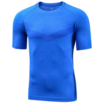 Xiaomi Proease Outing Men Summer One Piece Weaving Light Casual Sport Short Sleeve T-Shirts