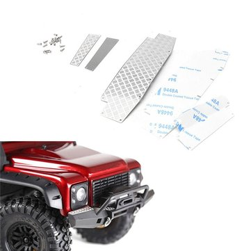 Anti Slide Chequer Or Diamond Plate For TRX-4 Front Bumper