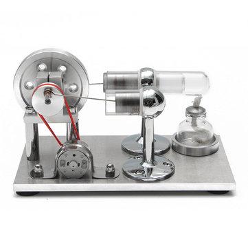 Hot Air Stirling Modèle de moteur Électricité Générateur d'énergie Kit de moteur Cadeau de jouet