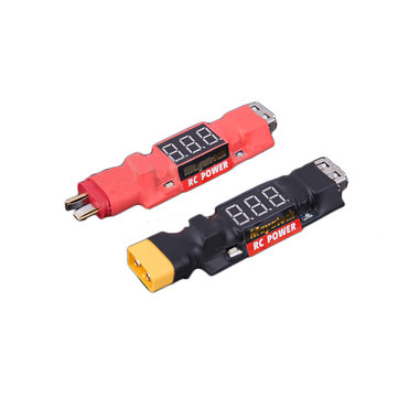 Mayatech 3 in 1 Multi-Function Lipo Battery USB Discharge Indicator