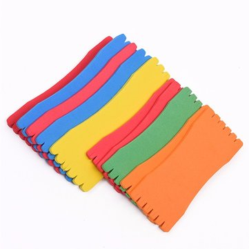 10Pcs Fishing Sponge Line Board Hanging Fishing Line Board Fishing Gear Accessories Gadget Group