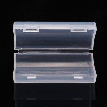 Palo 2 Slot AA AAA Battery Hard Plastic Storage Organization Case Cover Holder