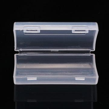 Palo 2 Slot AA AAA Battery Hard Plastic Storage Organization Case Cover Holder