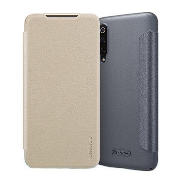 NILLKIN Shock-proof Flip PU Leather Full Body Cover Protective Case for Xiaomi Mi9 Mi 9 / Xiaomi Mi9 Transparent Edition