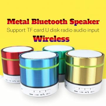 ELEGIANT Glare Colorful Bluetooth Speaker Wireless Portable Mini Subwoofer Stereo Support TF Card