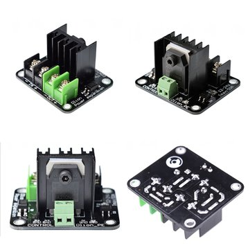 Dlion Heating-Controller MOS Module Non-polar Drive Control Interface High Current Hot Bed Power Expansion Board For All 3D Printer Mainboard