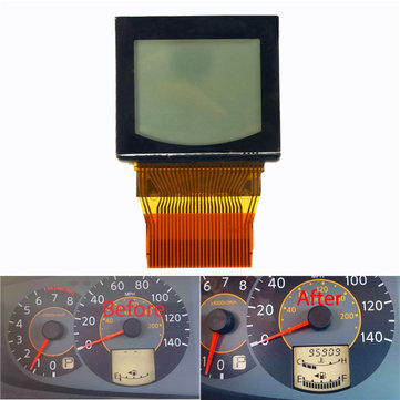 Cluster Odometer Speedometer LCD Display Screen for Nissan Quest 04-06 W/ Ribbon
