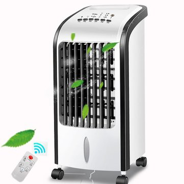 Home Portable Moveable 220V Electronic Air Cooler Strong Cooling System Conditioning Fan Humidifier Air Conditioner Fan