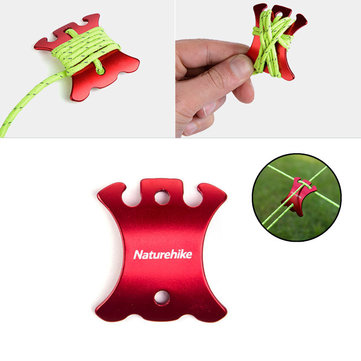 Naturehike Tent Rope Buckle Set Outdoor Camping Wind Rope Aluminum Alloy Stopper Tent Accessory