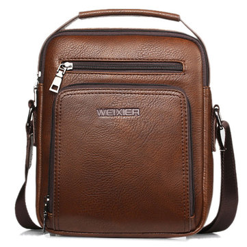 Casual Vintage Waterproof Multifunctional Shoulder Crossbody Bag For Men