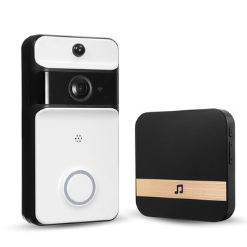 Smart IR Wireless WiFi DoorBell Security Video Phone Doorbell Visual Recording