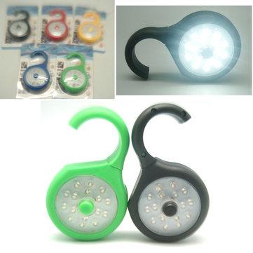 LEDМагнитПодвеснойсветНаоткрытом воздухе Маленький Лампа Bait Легкий Рыбалка Кемпинг Настольный светильник