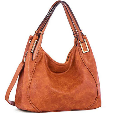 Brenice Women Fashion Handbag PU Leather Tote Crossbody Bag