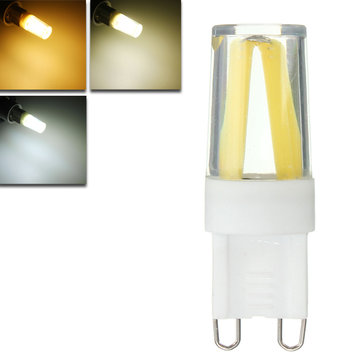 Dimmable G9 1.5W COB LED Pure White Warm White Natural White Plastic Light Lamp Bulb AC220V
