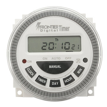 AC 220V-240V Digital LCD Power Programmable Timer Electronic Time Switch