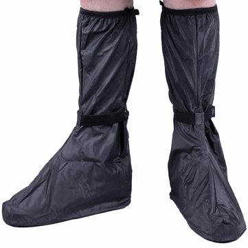 Waterproof Rain Shoes Cover Motorcycle Scooter Anti-slip Adjustable Tightness Shoes Boot Rain Gear
