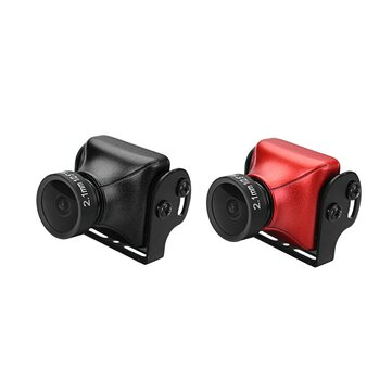 JJA-CM1200 1/3 CMOS 1200TVL Mini FPV Camera 2.1mm Lens PAL/NTSC Black/Red For RC Drone