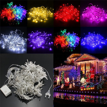 3Mx3M 432LEDs Christmas Fairy String Wedding Curtain Light Lamp 220V
