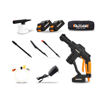 GUANXIN™ 20V Lithium Battery Portable Cordless Car High Pressure Washer Cleaner Upgraded Version