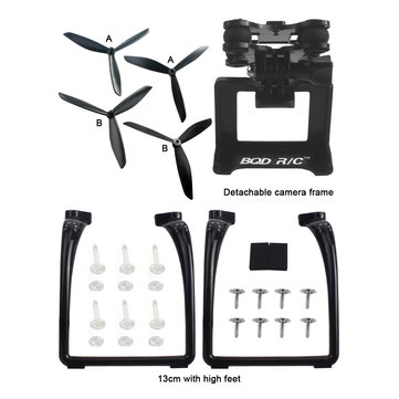 MJX B3 Bugs 3 Upgraded Triangular Propeller Landing Gear Gimbal Mount Camera Holder Accessories