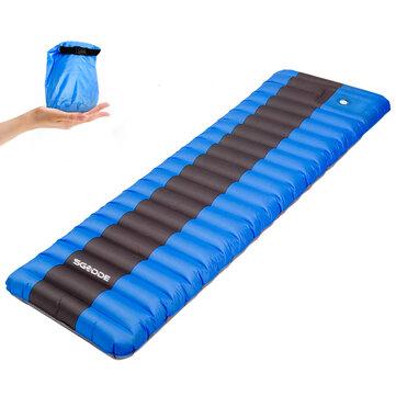 Elastic Sponge Outdoor Camping Inflatable Sleeping Pad Ultralight Air Mat Mattresses Hiking Inflatable Cushion