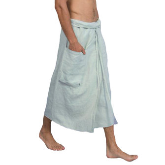 Mens Cotton Adjustable Pocket Strap Culottes Loungewear