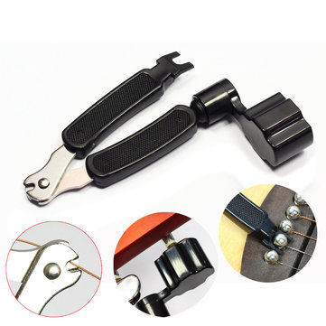 3 in 1 Peg String Winder Cutter Tool String pentrekker for Guitar Bass