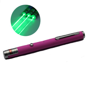 XANES LT-ZS006 532nm USB Charge Green Laser Pointer (1/5MW)