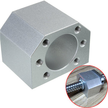 Ball Screw Nut Seat Bracket Holder Ball Nut Housing Bracket Mount For SFU1604 1605 1610