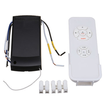 220-240V 50-60Hz Universal Ceiling Fan Light Lamp Remote Controller Timing Wireless Remote Control