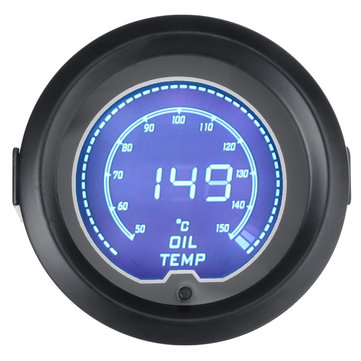 2 Inch Oil Temp Temperture Electronic Digital LED Gauge Meter Pointer