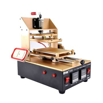 110/220V 5 In 1 Frame Laminator Vacuum LCD Separator with Glue Remove For Samsung iPhone