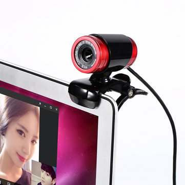 Specialize Optical Lens Auto White Balance 12.0M Pixels Webcams for both Laptop and Desktop.