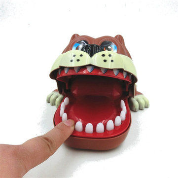 Funny Big Mouth ShaPi Dog Bite Finger Attention Fidget Toys Reduce Stress For Kids Children Gift