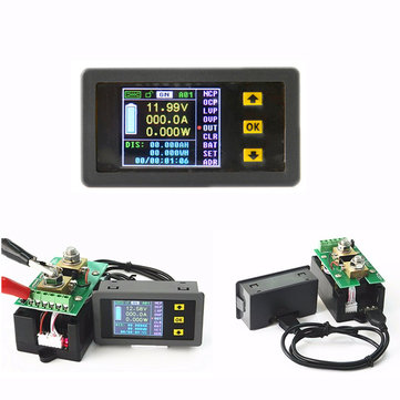 Digital Ammeter Voltmeter Wireless Bi-directional Voltage Current Tester Power Meter Coulomb Counter VAC1030A / VAC1100AV / AC1200A / VAC1300A / VAC4300A